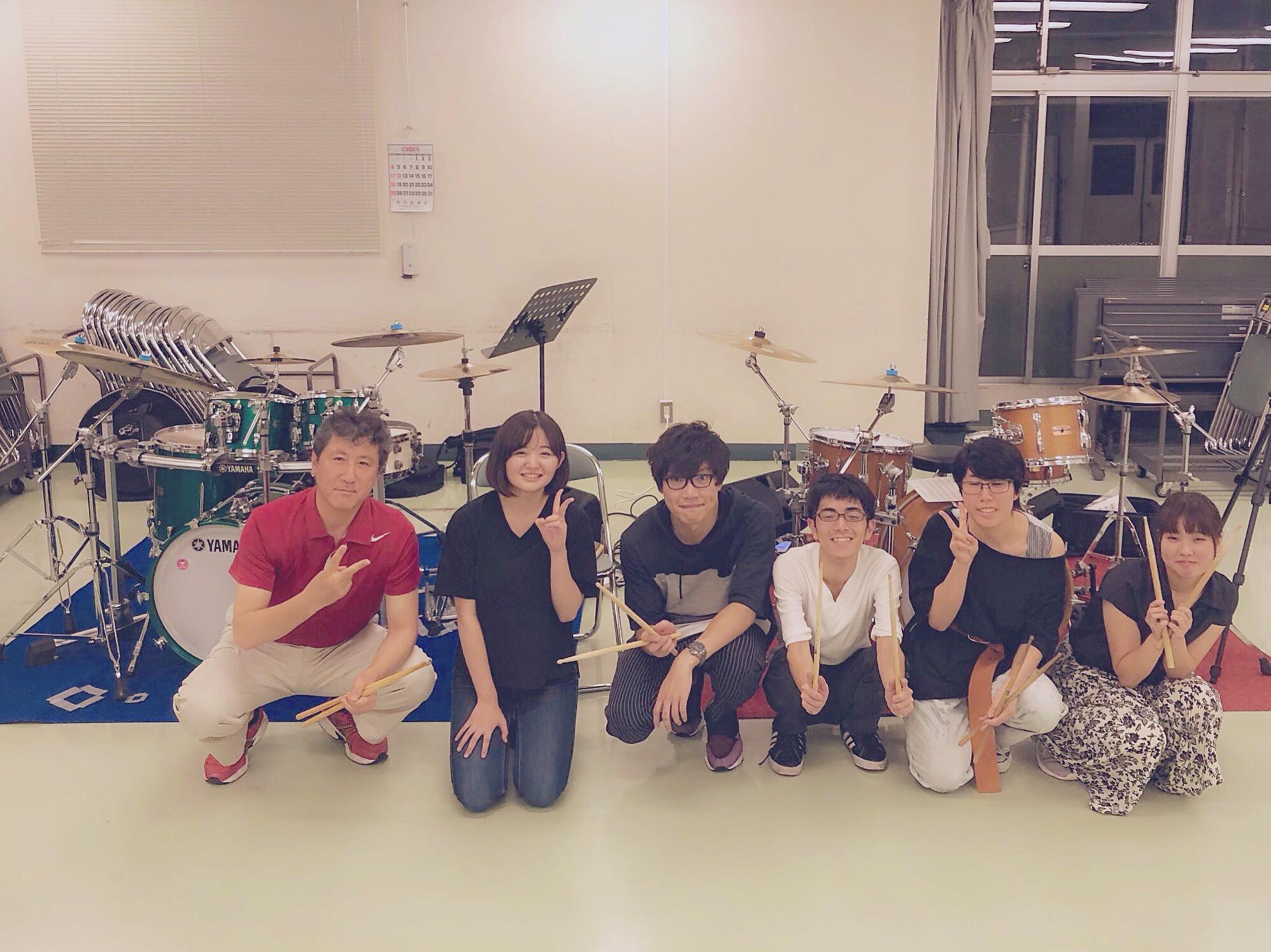 【レッスンリポート】みんなでドラムを叩こう!8/31ドラマーコース
